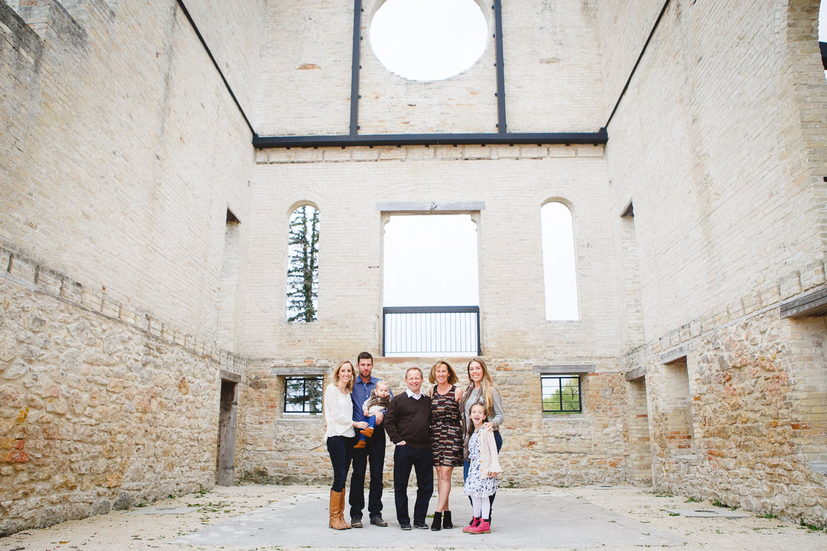 the plas family at st norbert ruins ashley nicole